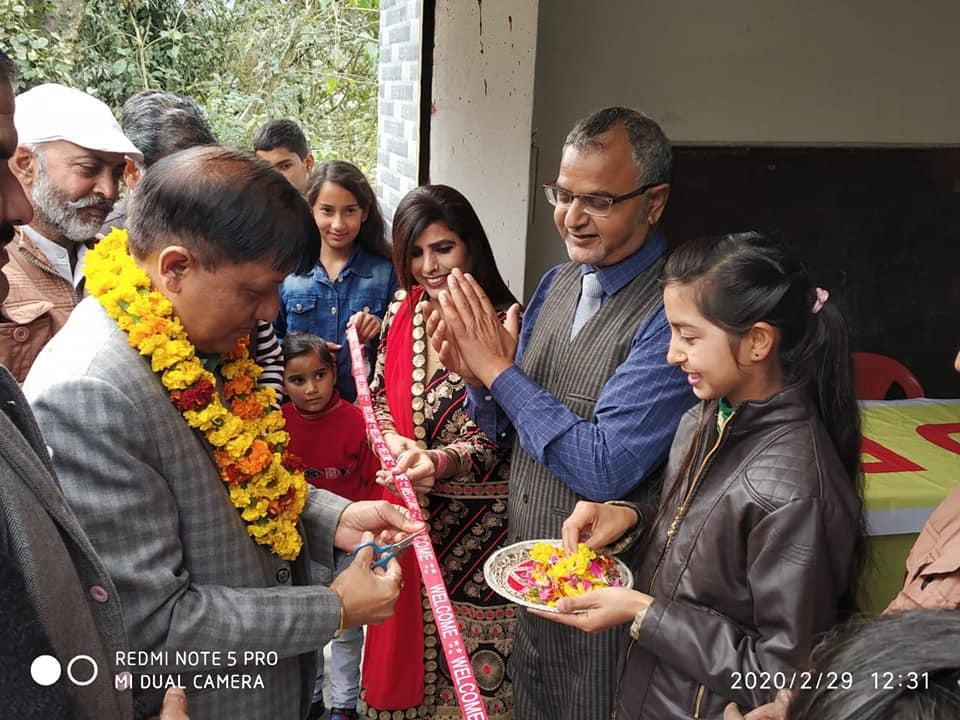 Rajinder Rana Chairman of SarvKalyan Kari Sanstha